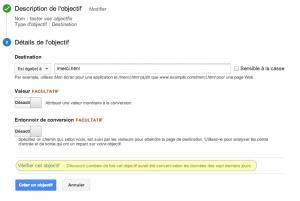 valider objectifs google analytics 300x201 Vérifiez vos objectifs à la volée avec Google Analytics